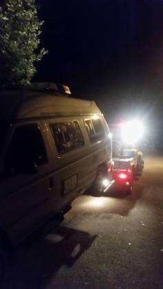 Van Night Towed