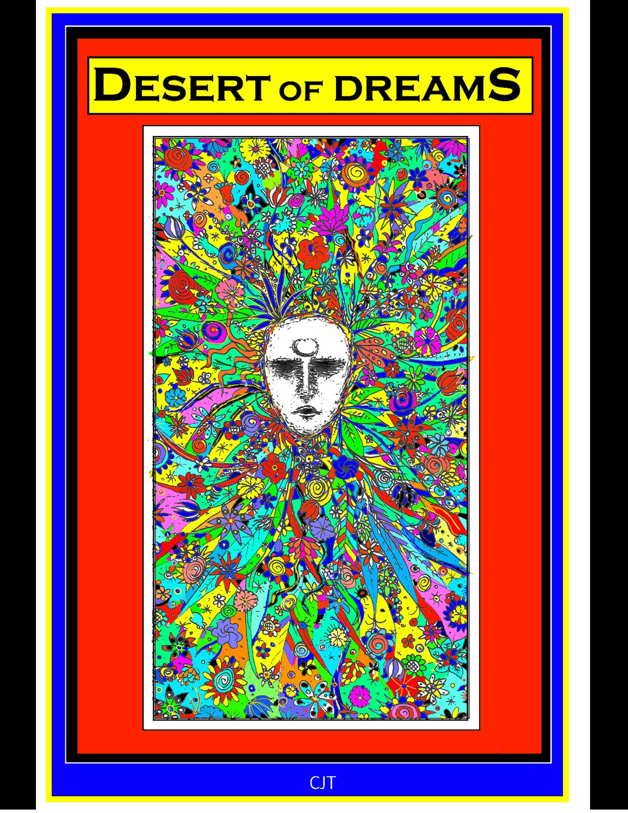 DESERT OF DREAMS Cover (Colorized)